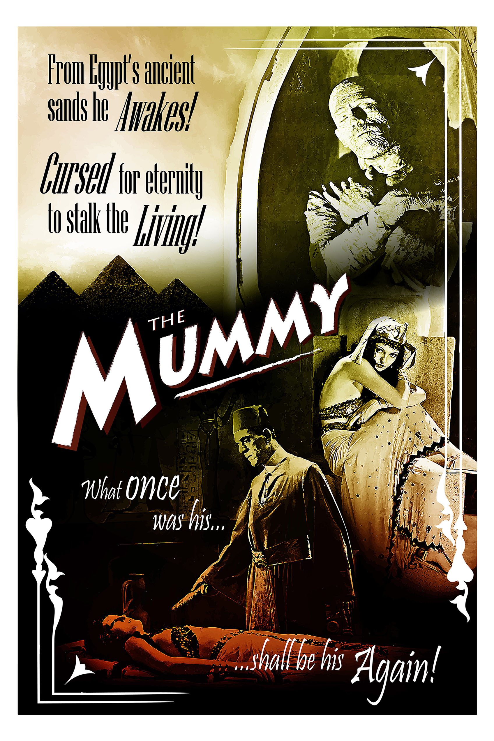 classic horror movie vintage inspired posters jmklatte